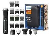 Philips18-in-1Multigroom MG7785/20,Barttrimmer, Haarschneider, Körperhaartrimmer, Ohr- und Nasenhaartrimmer, selbstschärfende Metallklingen